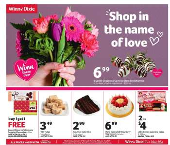 Winn Dixie Flyer - 01.27.2021 - 02.16.2021.