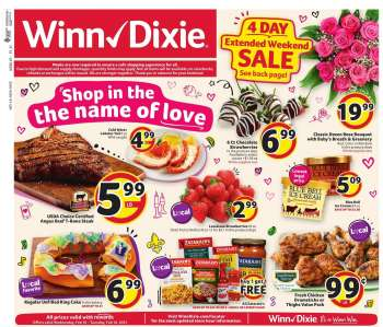 Winn Dixie Flyer - 02.10.2021 - 02.16.2021.