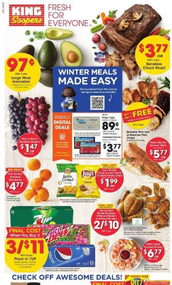 King Soopers Flyer - 02.17.2021 - 02.23.2021.