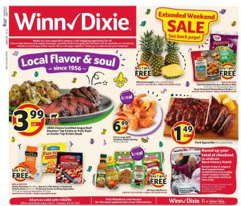 Winn Dixie Flyer - 02.17.2021 - 02.23.2021.